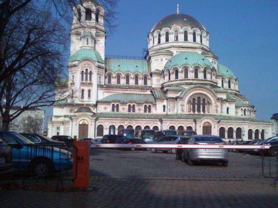 St. Alexander Nevsky, barrier Lady