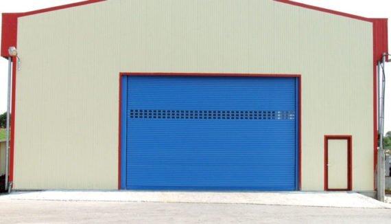 Индустриална охранителна ролетка