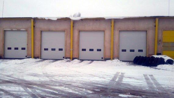 Биомет, индустриални секционни врати