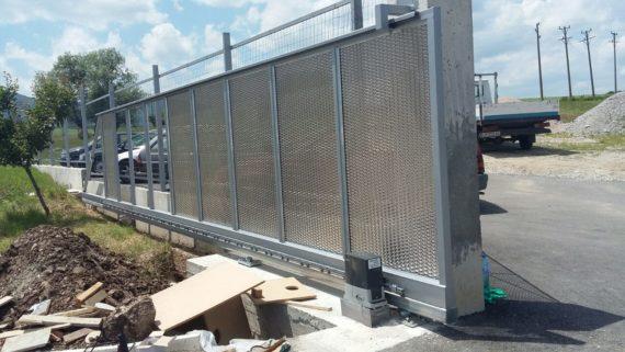 Cantilever sliding gate, BULL.5