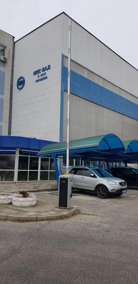 НЕК Пловдив, бариера EVA